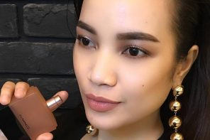 Mac Cosmetics Malaysia | Nude Makeup Pair With Velvet Teddy Scents